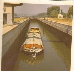 L'Adage dans les année 1970 sur le Rhône