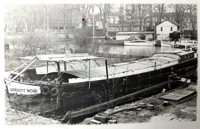 Première mise en cale pour travaux de transformation printemps 1978