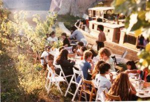 Port de BRAM Canal du Midi - séjour de vacances pour adolescents 1980