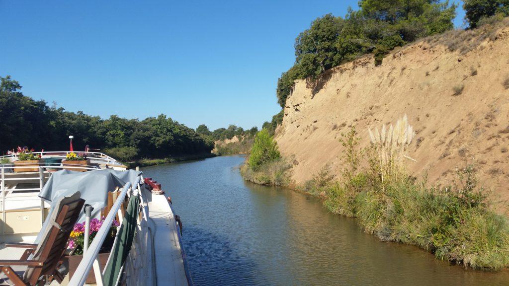 Le Canal du Midi en péniche, croisière en demi-pension